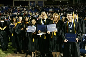 Commencement for Bachelor's page