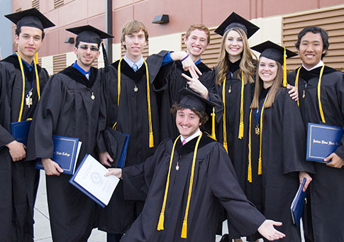 Group of A.A. graduates
