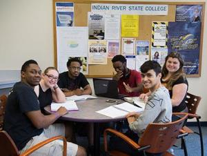 Group of students at Pruitt Campus