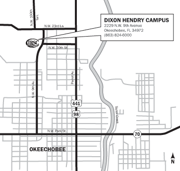 Indian River State College - Dixon Hendry Campus Maps