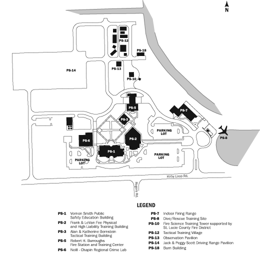 TCPSTC Campus Map