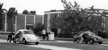 VW on campus
