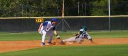 Baseball action slide