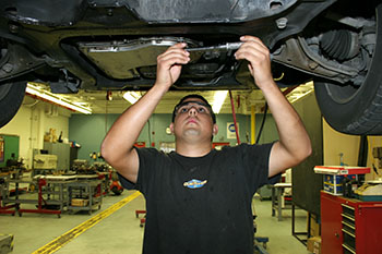 Automotive Tech student